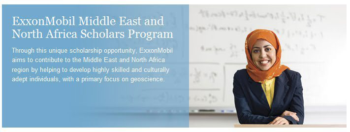 Exxon Mobil Middle East and North Africa Scholars Program