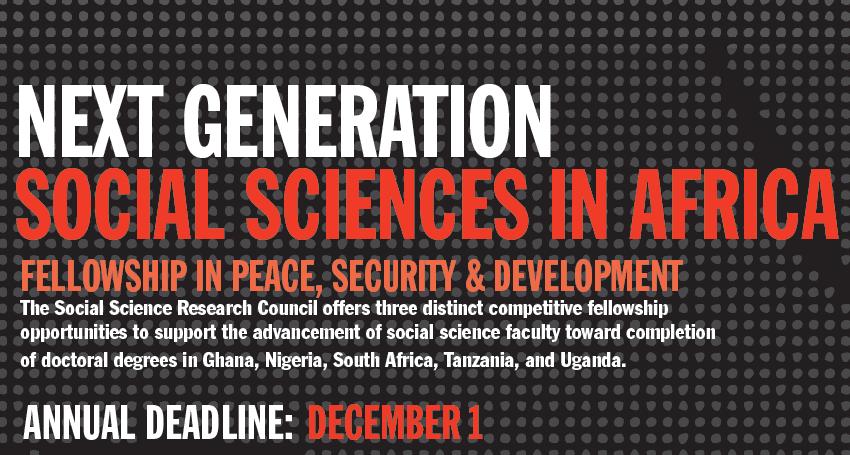 Next Generation Africa Fellowship