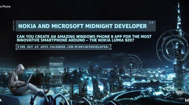 The Nokia and Microsoft Midnight Developer Challenge