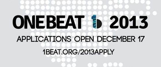 The 2013 One Beat Fellowship Programme