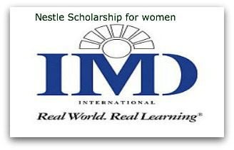 nestle mba scholarships for women in developing countries