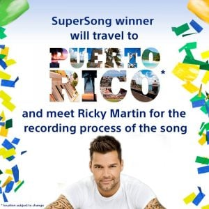 Sony Supersong with Ricky martin