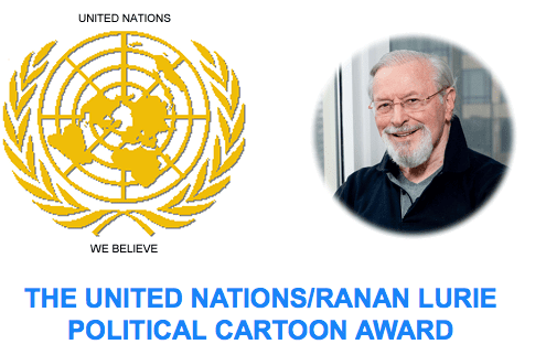 2014 UNITED NATIONS/RANAN LURIE POLITICAL CARTOON AWARD