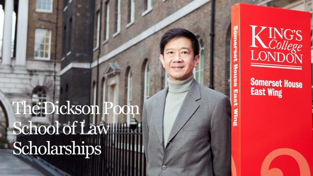 Dickson Poon Undergraduate Law Scholarships 2018 for study in the United Kingdom ( Funded)