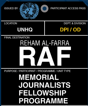 reham-al-farra-raf-memorial-journalists-fellowship-programme-2015
