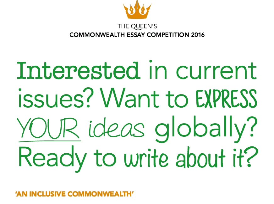 Commonwealth competition essay writing