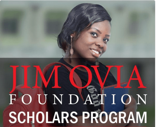 Jim Ovia Scholarship 2017 for Graduates & Undergraduate