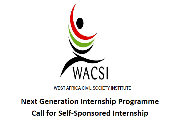 West Africa Civil Society Institute (WACSI) Internship Programme for Young West Africans 2018