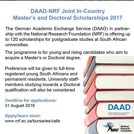 daad-nrf-scholarships-2017