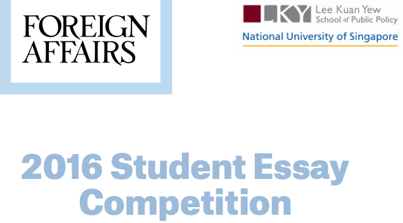foreign policy essay contest 2011