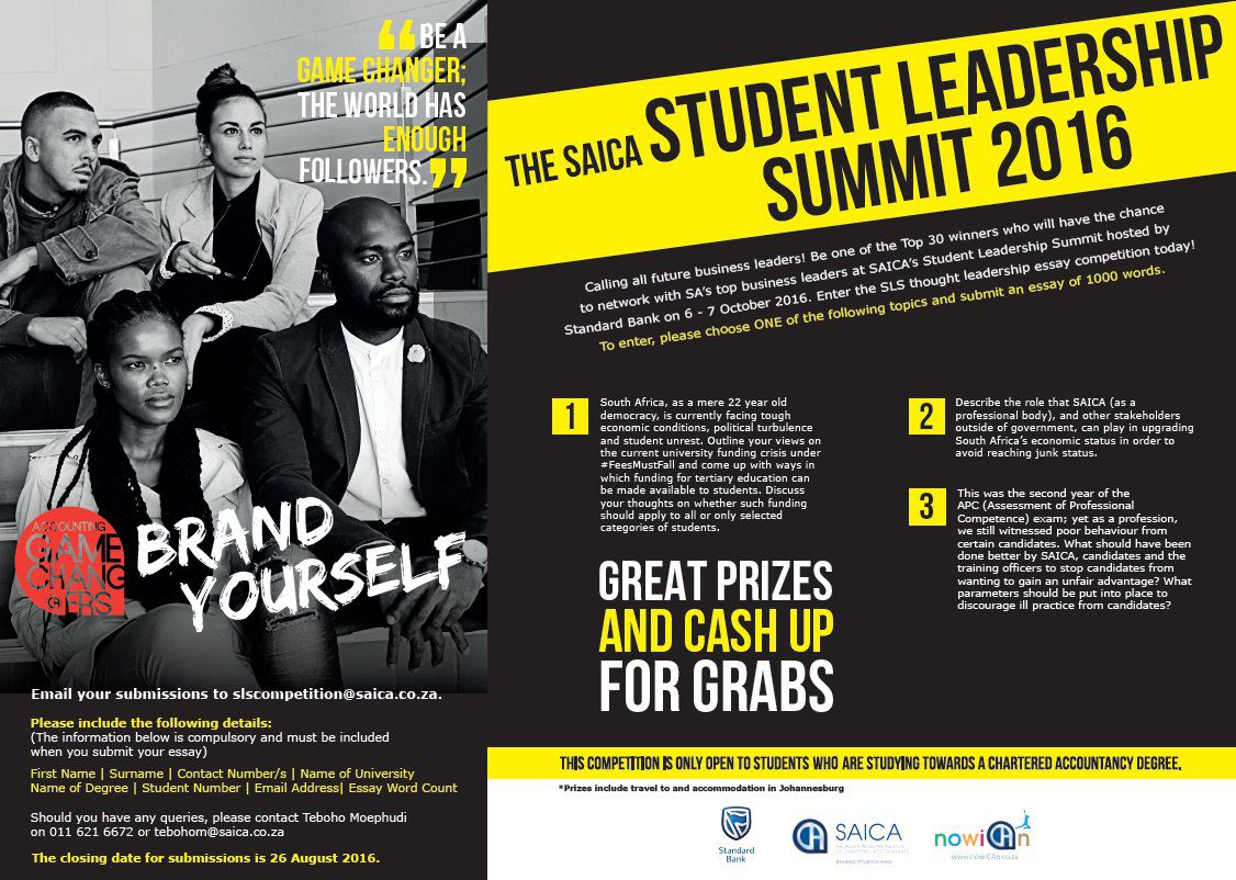 future black leaders essay contest