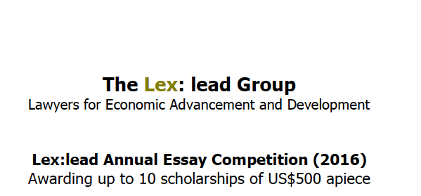 lead the way scholarship essay Essay contest form past winning essays supporting partner: project lead the way and math for america are co-sponsoring an essay contest for biographies.