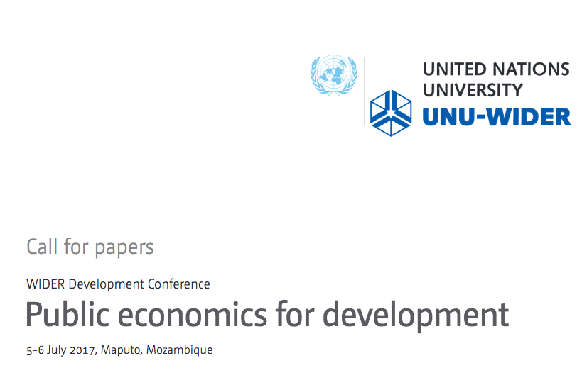 development economics research papers Global data and statistics, research and publications, and topics in poverty and development we face big challenges to help the world's poorest people and ensure that.