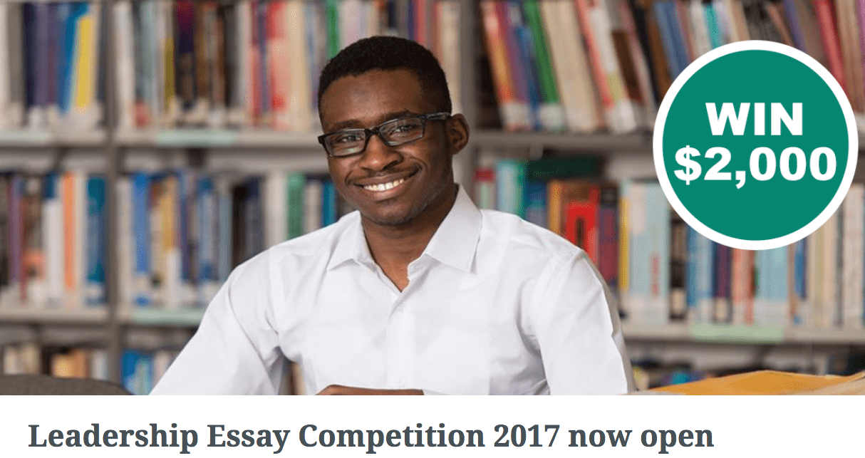 leadership essay competition The st gallen wings of excellence award is the world's most prestigious essay competition aimed for graduate or postgraduate students.
