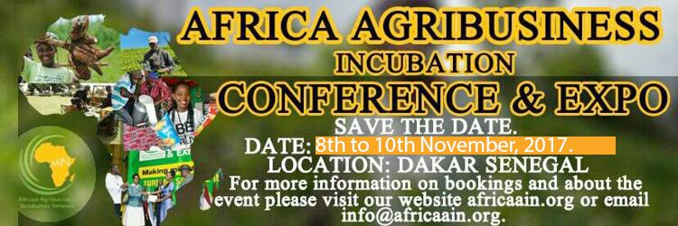 2nd Annual Africa Youth in Agribusiness Day Challenge 2017 (fully-sponsored trip to selected incubators in Africa, Asia and Europe) 2