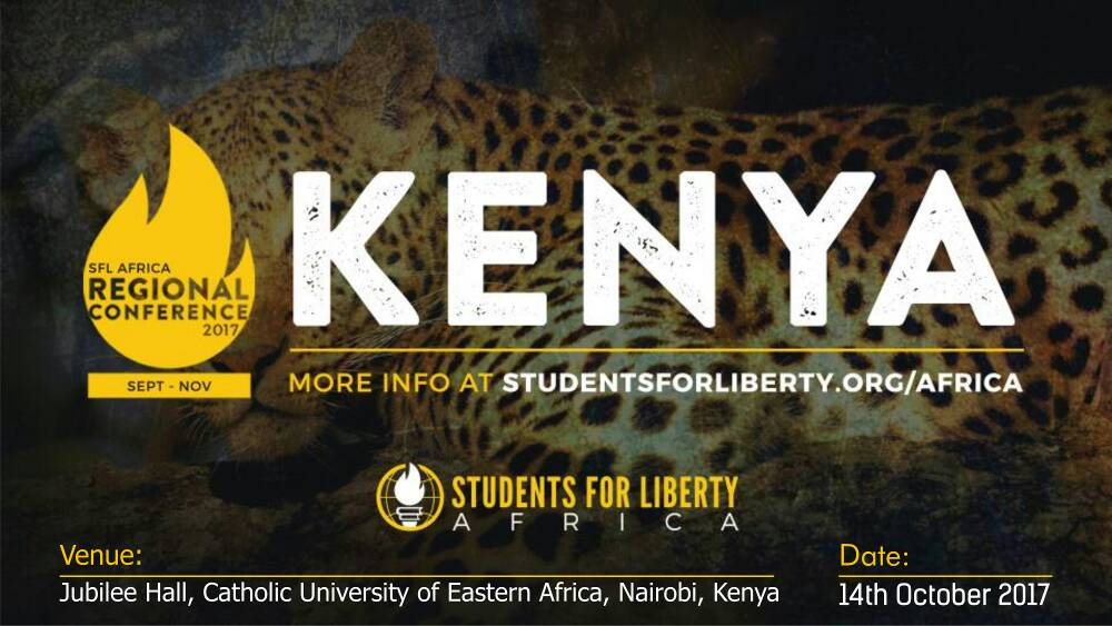 Call for Application to Attend 2017 African Students For Liberty Regional Conferences 2